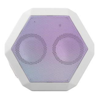 Girly Pink Gradient White Boombot Rex Bluetooth Speaker
