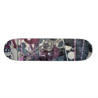 Girly Pirates Skateboard