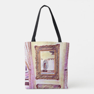 Girly Powder Room Dance Class Tote