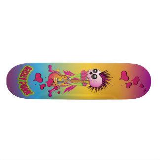 Girly Punk Rock Skate 18.1 Cm Old School Skateboard Deck