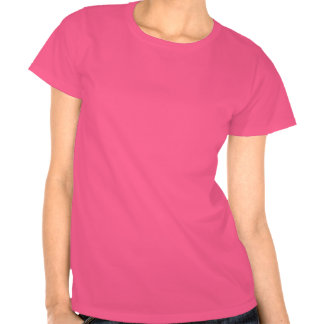 Girly Red Pink Zigzag Pattern Tee Shirts