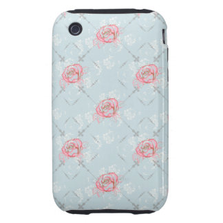Girly Roses and Trellis iPhone 3gs Case