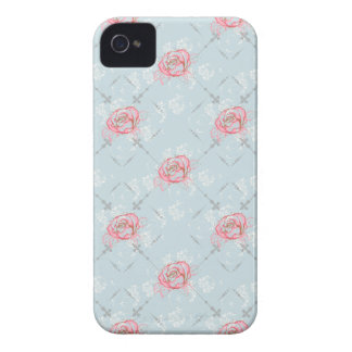 Girly Roses and Trellis iPhone 4 Case