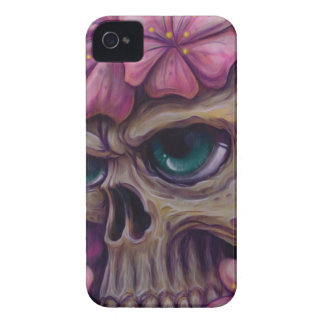 girly skull Case-Mate iPhone 4 cases