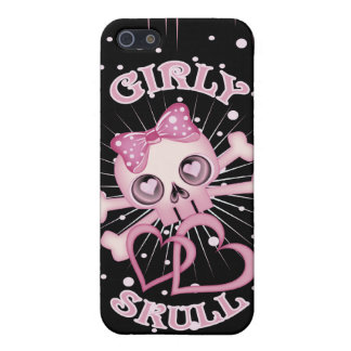 Girly Skull iPhone 5/5S Cover