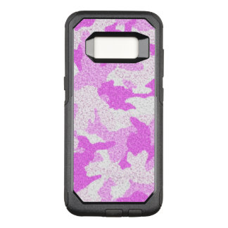 Girly Soft Pink Camo Military Camouflage Pattern OtterBox Commuter Samsung Galaxy S8 Case