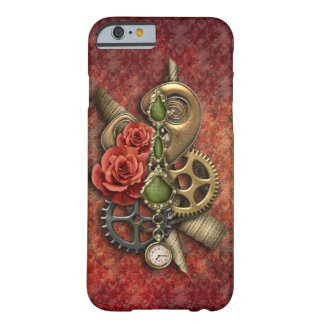 Girly Steampunk with Vintage Jewels Barely There iPhone 6 Case