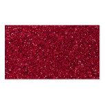 Girly Stylish Red Glitter Photo Print