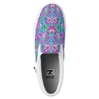 girly swirls shoes