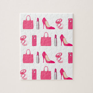 Girly things design puzzle