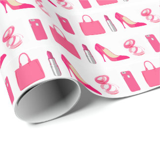 Girly things gift wrap