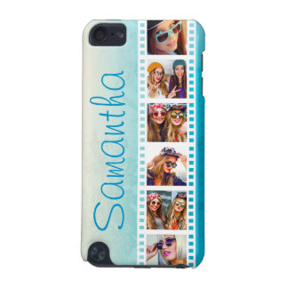 Girly Trendy Blue Grunge Summer 5G iPod Touch Case