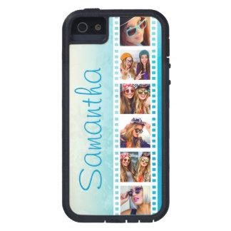 Girly Trendy Blue Grunge Xtreme iPhone 5 Case