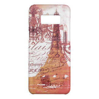 girly vintage French chandelier girly eiffel tower Case-Mate Samsung Galaxy S8 Case
