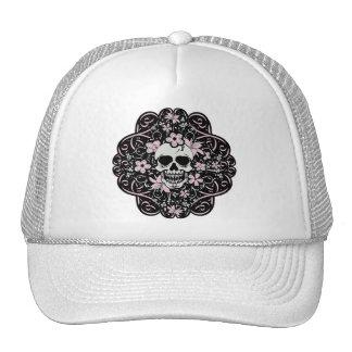 Girly Vintage Skull Cap