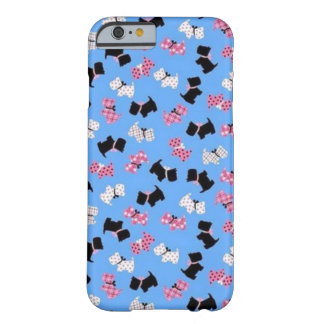 Girly Westie Print Phone Case