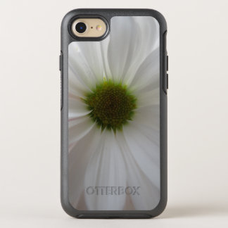 Girly White Flower Chic OtterBox Symmetry iPhone 7 Case