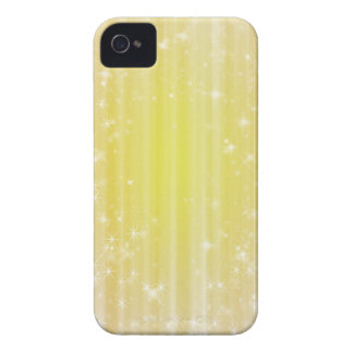 Girly Yellow Sparkles iPhone 4s Case