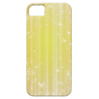 Girly Yellow Sparkles iPhone 5s Case