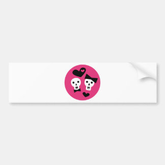 GirlyGothic12 Bumper Sticker