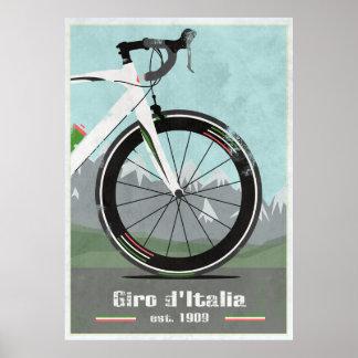 GIRO D'ITALIA BIKE PRINT