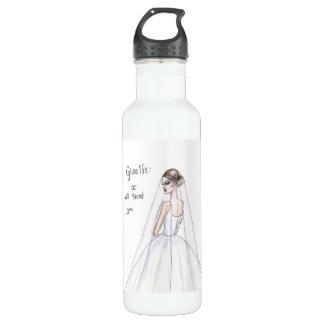 """""""Giselle: I will haunt you"""" Ballet inspired bottle"""