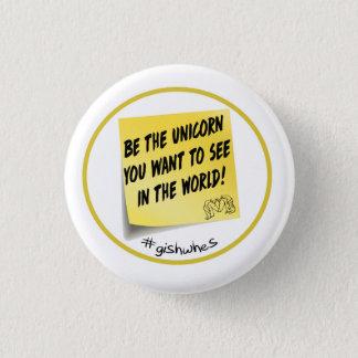 GISHWHES Be the Unicorn pinback button