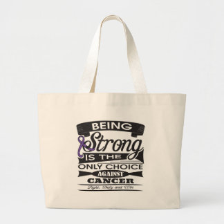 GIST Cancer Strong is The Only Choice Tote Bags