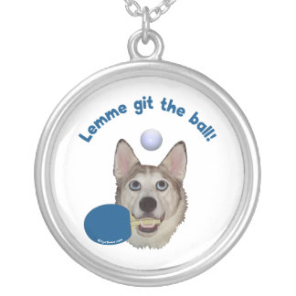 Git the Ball Ping Pong Dog Jewelry