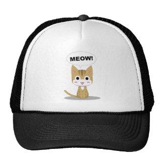 Gitten Meow Mesh Hats