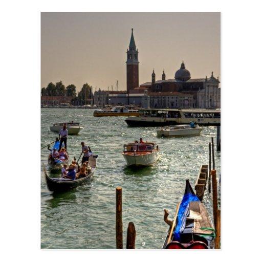 Giudecca Canal Post Card