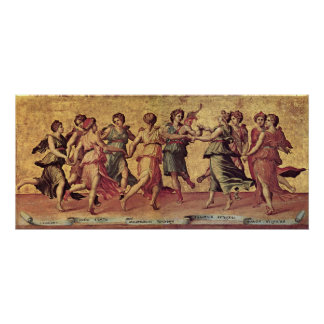 Giulio Romano - Dance of Apollo with the Muses Poster