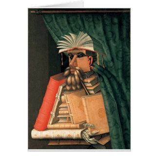 Giuseppe Arcimboldo's Librarian Card
