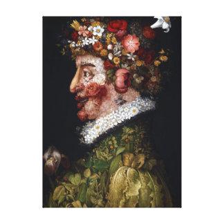 Giuseppe Arcimboldo Spring Canvas Print