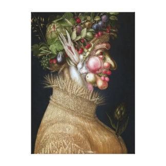 Giuseppe Arcimboldo Summer Canvas Print