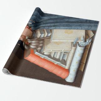 Giuseppe Arcimboldo The Librarian Wrapping Paper
