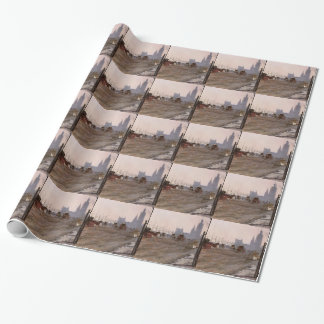 Giuseppe de Nittis-The Victoria Embankment, London Wrapping Paper