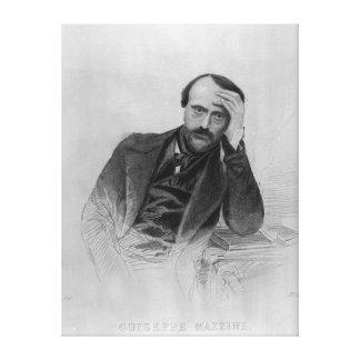 Giuseppe Mazzini Stretched Canvas Prints
