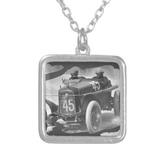 Giuseppe on route 1922 silver plated necklace