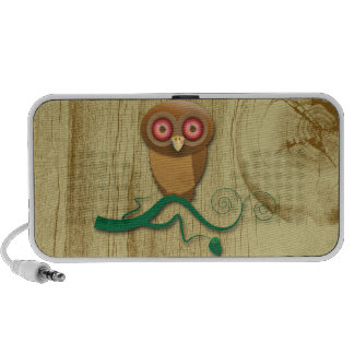 Give a Hoot Notebook Speakers