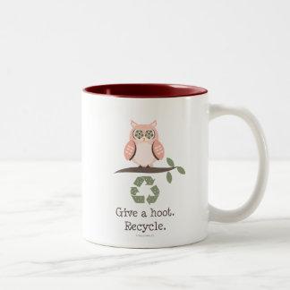 Give A Hoot Recycle Mug