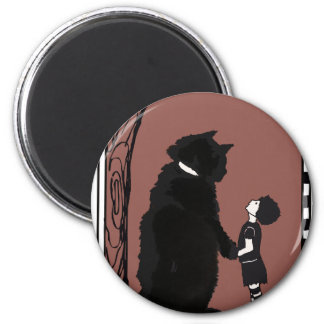 give A little love 6 Cm Round Magnet