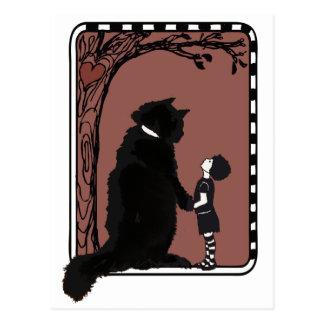 give A little love Postcard