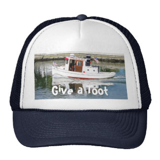 Give A Toot Tug Boat Hat