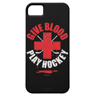 Give Blood. Play Hockey. iPhone 5 case