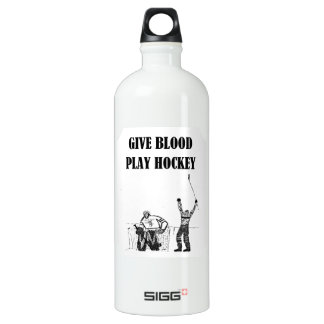 Give Blood Play Hockey SIGG Traveller 1.0L Water Bottle