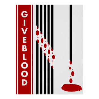Give Blood PSA Poster