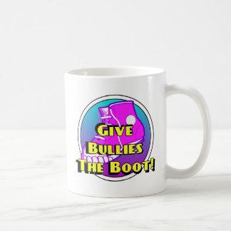Give Bullies The Boot Product Basic White Mug