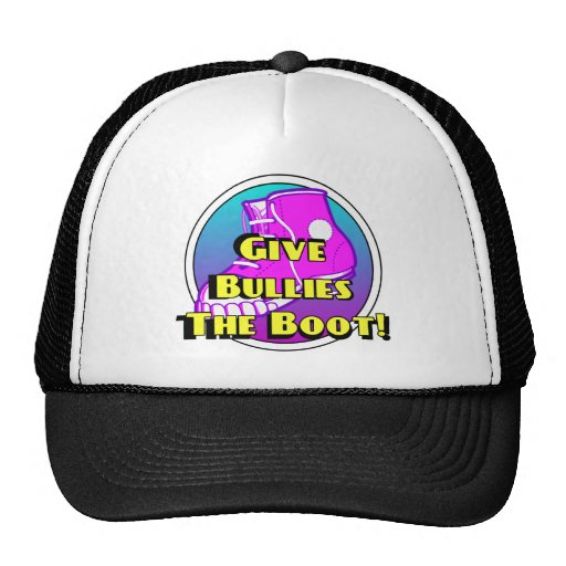 Give Bullies The Boot Product Trucker Hat