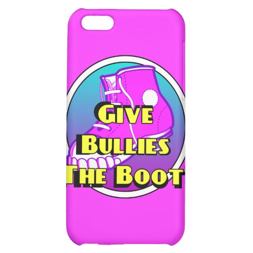 Give Bullies The Boot Product iPhone 5C Cases